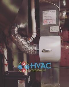 Aprilaire Humidifier Installed