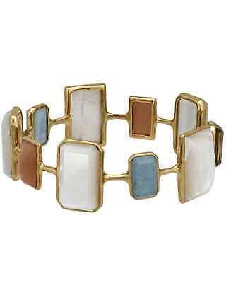 Ippolita Rock Candy 18k Gold Multi-colored Stones & MoP Bracelet GB629SILKRD