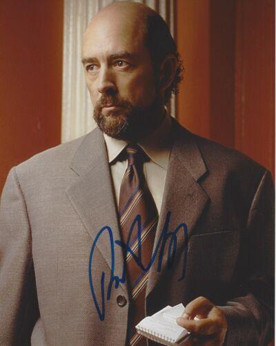 ACTOR RICHARD SCHIFF SIGNED THE WEST WING 8x10 PHOTO B w/COA TOBY ZIEGLER CAST