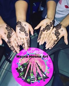 Mayra Heena Art (Book your appointment for 2018)