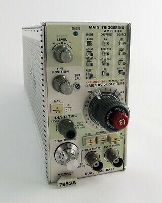 Tektronix 7b53a Dual Time Base Oscilloscope Plug-in