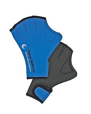 Aqua Sphere Webbed Swim Gloves Large Free Shipping