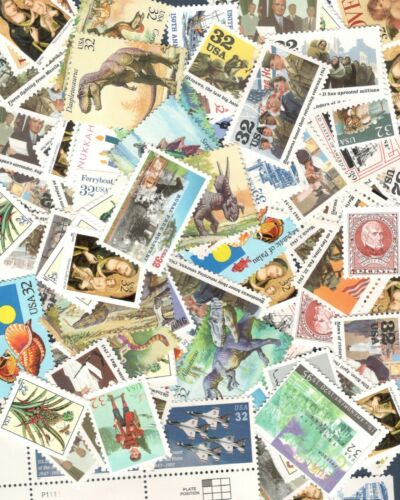 US Discount Postage 100 (32 cent Stamps) Mint Face Value $32.00 SHIPS FREE