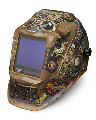 Lincoln Viking 3350 Steampunk Welding Helmet K3428-4