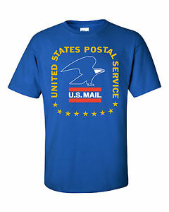 Usps postal post office royal t shirt vintage 3 color for Usps t shirt shipping