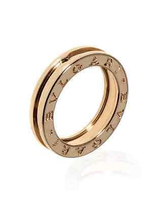 Bvlgari B Zero 18k Rose Gold Band Ring AN852422 Sz 5.25