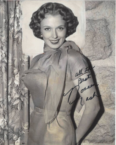ACTRESS NOREEN NASH SIGNED AUTHENTIC PHANTOM FROM SPACE 8X10 PHOTO C w/COA GIANT