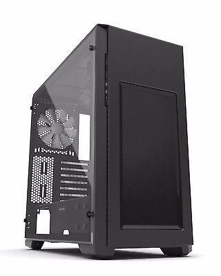 Phanteks Enthoo Pro M Mid Tower Gaming PC Case Full Acrylic Side Window Black