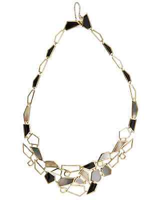 Ippolita Polished Rock Candy 18k Gold Multi-colored Stones Necklace GN668GIORNO