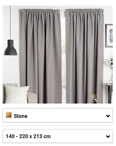 Pencil Pleat Curtain Pair $79 ono Cooranbong Lake Macquarie Area Preview