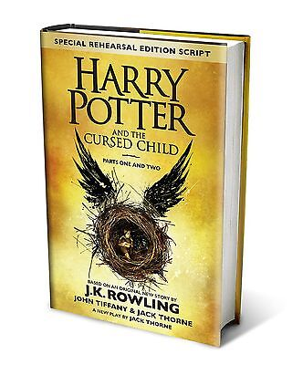 Harry Potter And The Cursed Child Parts 1   2 Script Book 8 Special Edition New