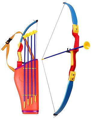 n Pfeil und Bogen Set für Kinder mit Umhängetasche Spielzeug (Kinder Bogen)