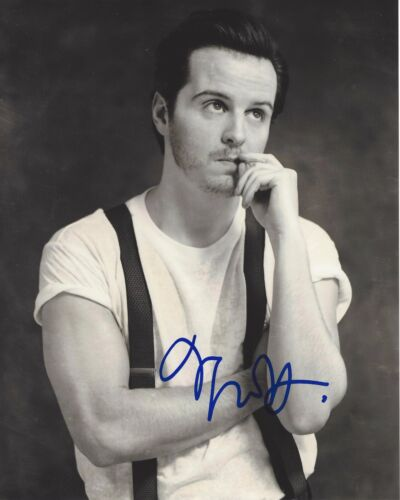 ACTOR ANDREW SCOTT SIGNED SHERLOCK 8X10 PHOTO W/COA SPECTRE JAMES BOND MOVIE