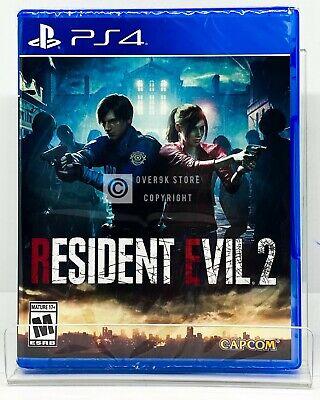 Resident Evil 2 - PS4 - Brand New | Factory Sealed