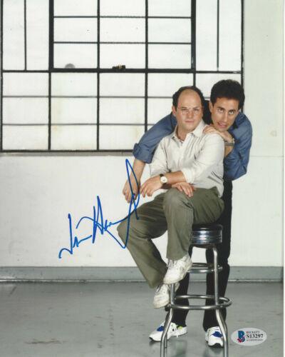 JASON ALEXANDER SIGNED 'SEINFELD' GEORGE COSTANZA 8x10 PHOTO A BECKETT BAS COA