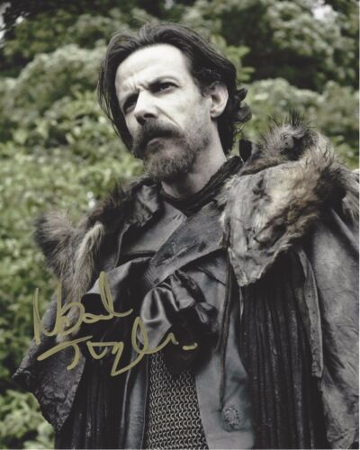 ACTOR NOAH TAYLOR SIGNED GAME OF THRONES 8X10 INCH PHOTO W/COA PROOF LOCKE