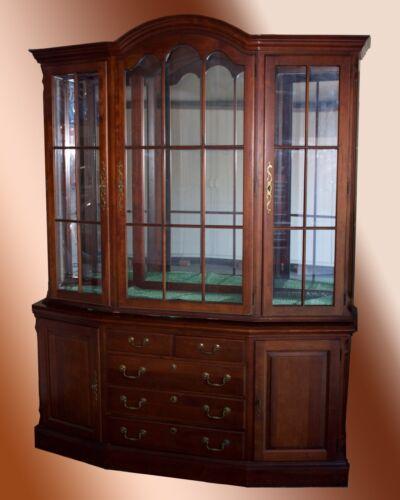 Pennsylvania House Hallmark Cherry Wood China Cabinet