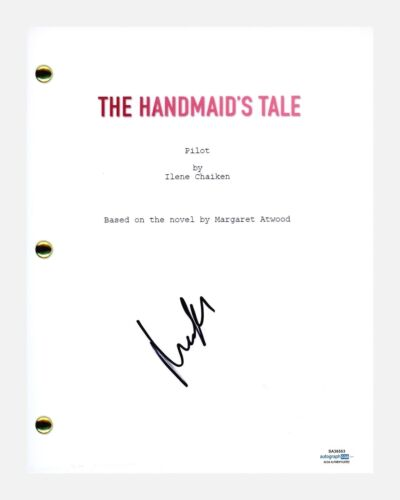 Madeline Brewer Signed Autographed The Handmaid's Tale Pilot Episode Script ACOA