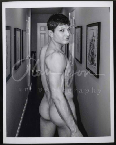 11x 8.5 Signed Original Art Male Photo (9) Greg looks back