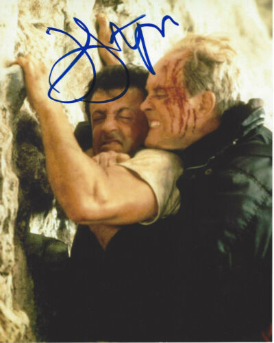 JOHN LITHGOW SIGNED AUTHENTIC 'CLIFFHANGER' 8X10 PHOTO w/COA ACTOR DEXTER