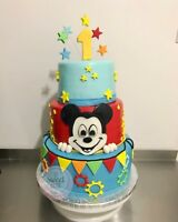 3 Tiered Custom cakes for as low as 225$