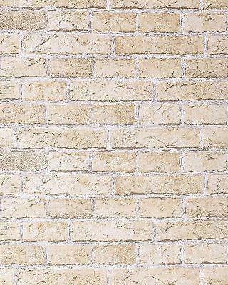 Rustikale Sand (EDEM 583-20 Rustikale Vinyl Tapete Mauerstein Klinker Ziegel-stein sand-beige)