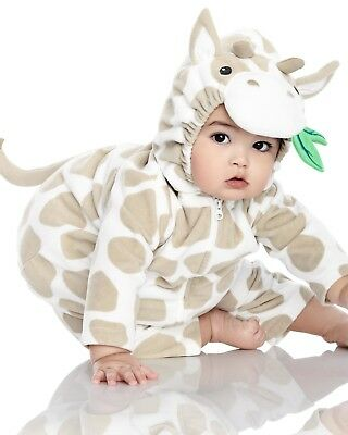 NEW NWT Boys or Girls Carter's Halloween Costume Giraffe 3/6 or 6/9 Months (3 Month Halloween Costume)