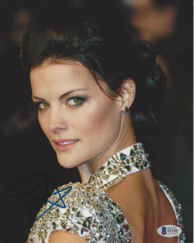 JAIMIE ALEXANDER SEXY ACTRESS SIGNED 8X10 PHOTO 4 THOR BLINDSPOT BECKETT COA BAS