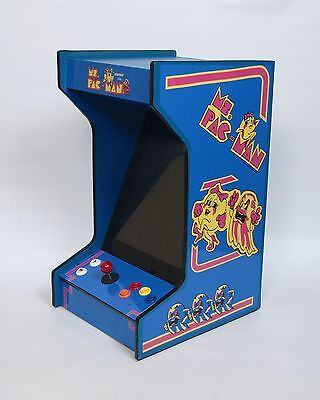 *New* Upright Bartop/Tabletop Arcade Machine With 60 Classic Games