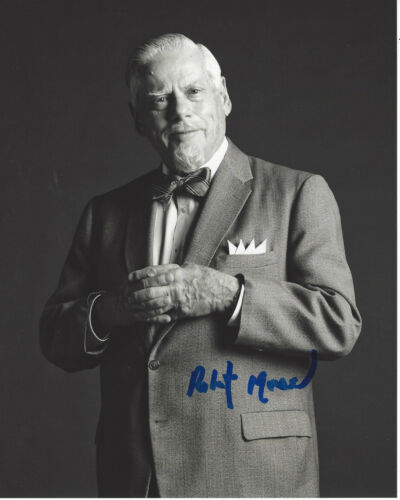 ROBERT MORSE SIGNED AUTHENTIC MAD MEN 'BERT COOPER' 8X10 PHOTO H w/COA ACTOR