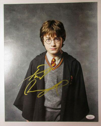 Daniel Radcliffe Signed Harry Potter Philosopher's Stone 11x14 Photo PROOF JSA