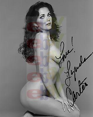REPRINT RP 8x10 Signed Autographed Picture Photo: Wonder Women Lynda Carter NUDE