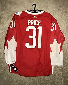 Carey Price signed WCH Jersey