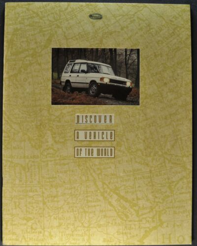 1995 Land Rover Discovery Catalog Sales Brochure 4x4 Excellent Original Early 95