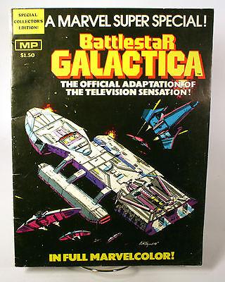 Battlestar Galactica marvel super special