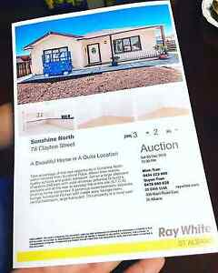 House Auction Sale in Sunshine North 3020 West Footscray Maribyrnong Area Preview