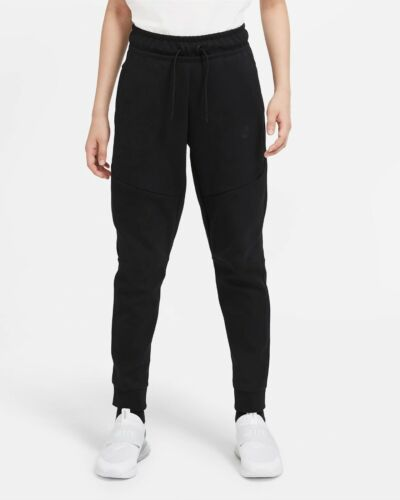 Nike Sportswear Tech Fleece Jogger Big Kids Pants Black CU9213 010 - SIZE M