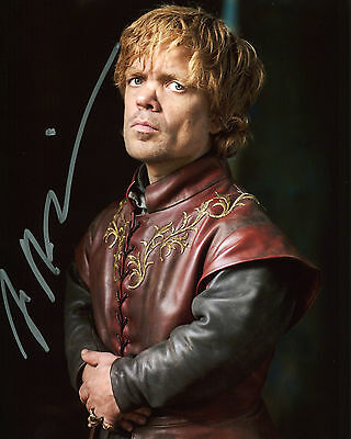 Peter Dinklage - Tyrion Lannister - Game of Thrones - Signed Autograph REPRINT