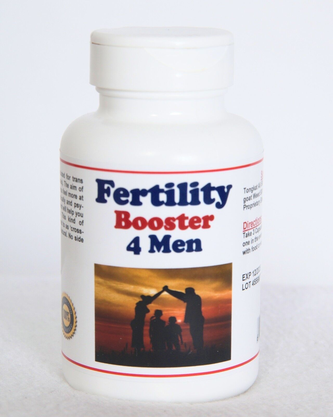Fertile  Booster 4 Men - Men Infertility Treatment ( 120 caps - Made in USA )