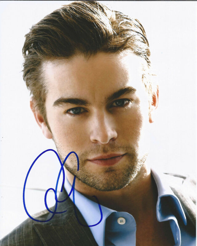 "CHACE CRAWFORD HAND SIGNED AUTHENTIC GOSSIP GIRL ""NATE ARCHIBALD"" 8X10 PHOTO COA"