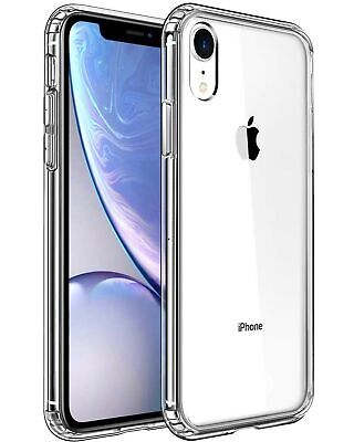 Mkeke Compatible with iPhone XR Case,WClear Anti-Scratch Shock Absorption Cove
