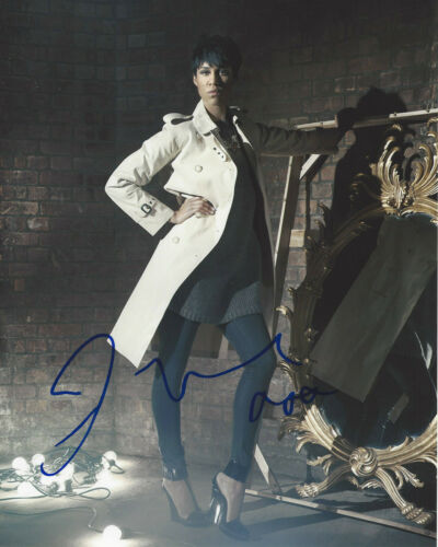 ZAWE ASHTON SIGNED AUTHENTIC 'SHERLOCK' 8X10 PHOTO w/COA VELVET BUZZSAW ACTRESS