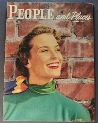 1955 DeSoto People & Places Brochure Fireflite Firedome Plymouth Nice Original