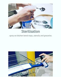 Hydro-e disinfectant sanitiser  for your household 3spray bottle Strathfield Strathfield Area Preview
