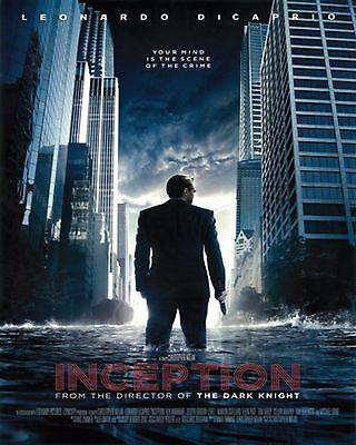 Inception Movie Poster Print Leonardo Dicaprio 24 X36   New
