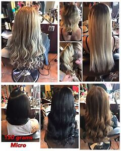 MICRO/FUSION/TAPE IN HAIR EXTENSIONS
