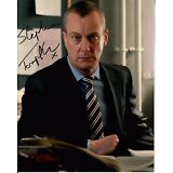 STEPHEN TOMPKINSON hand-signed DCI BANKS 8x10 color closeup w/ UACC RD COA