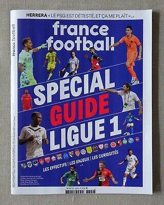FRANCE FOOTBALL - SPECIAL GUIDE DE LA LIGUE 1 2019-2020