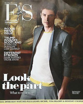 ES Magazine Max Brown Matthew McNulty Kim Jones Donald Trump Dominic Cooper  NEW