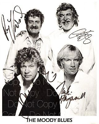 The Moody Blues signed Ray Thomas Graeme 8X10 photo picture poster autograph RP